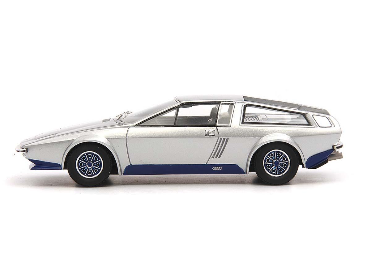 Autocult-AUDI-100s-Coupe-speciale-Frua-1974-SILVER-1-43-atc60006 miniatura 3
